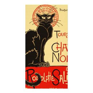 Tournée du Chat Noir Art Nouveau Card