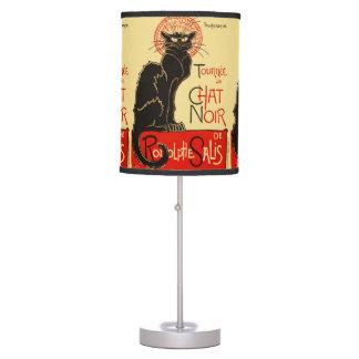 Tournée du Chat Noir Art Nouveau Desk Lamp