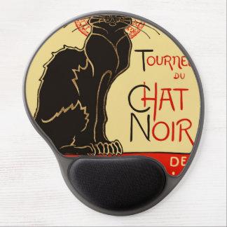 Tournée du Chat Noir Art Nouveau Gel Mouse Pad