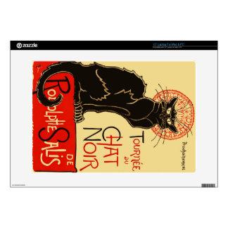 Tournée du Chat Noir Art Nouveau Laptop Skins