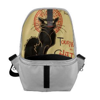 Tournée du Chat Noir Art Nouveau Messenger Bag