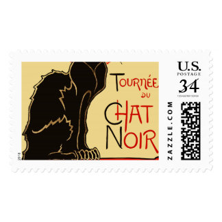 Tournée du Chat Noir Art Nouveau Postage