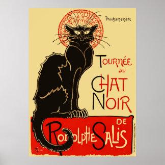 Tournée du Chat Noir Art Nouveau Poster