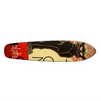 Tournée du Chat Noir Art Nouveau Skateboard Deck