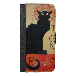 Tournee du Chat Noir Black Cat Cabaret iPhone 6/6s Plus Wallet Case