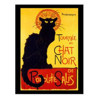 Tournée du Chat Noir, c.1896 Postcard