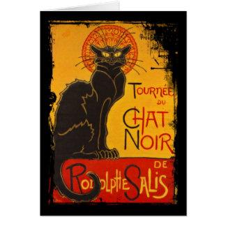 Tournee du Chat Noir Greeting Card