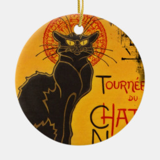 Tournee du Chat Noir Ceramic Ornament