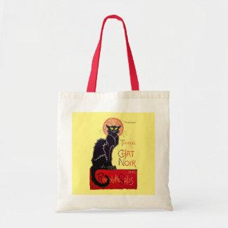 Tournee du Chat Noir French Art Nouveau Black Cat Budget Tote Bag