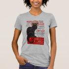 Tournee du Chat Noir French Art Nouveau Black Cat T-Shirt