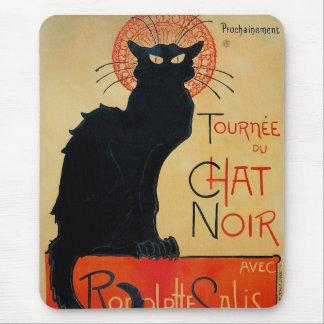Tournee du Chat Noir Mouse Pad