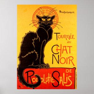 Tournée du Chat Noir Posters