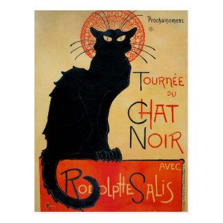 Tournee du Chat Noir Postcard