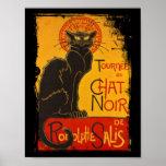 Tournee du Chat Noir Posters