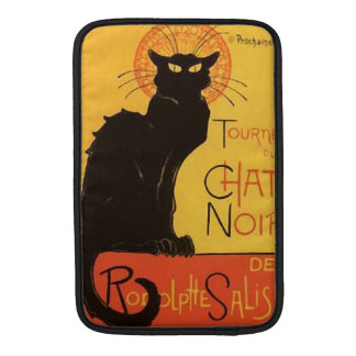 Tournée du Chat Noir, Steinlen Black Cat Vintage MacBook Air Sleeves
