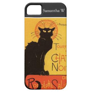 Tournée du Chat Noir, Steinlen Black Cat Vintage iPhone SE/5/5s Case