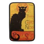 Tournée du Chat Noir, Steinlen Black Cat Vintage MacBook Sleeve