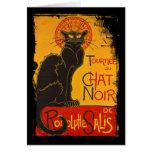 Tournee du Chat Noir Tarjeta