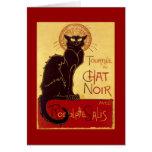 Tournée du Chat Noir, Théophile Steinlen Stationery Note Card