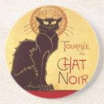 Tournée du Chat Noir, Théophile Steinlen Drink Coasters