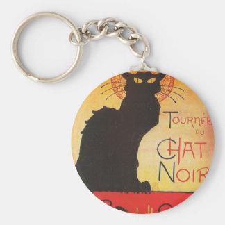 Tournée du Chat Noir Théophile Steinlen French Key Chain