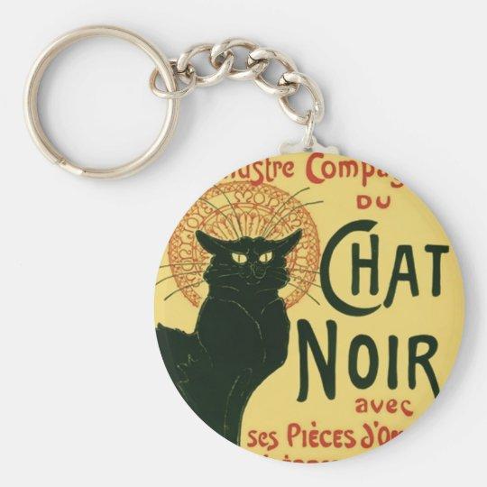 Tournée du Chat Noir, Theophile Steinlen Keychain