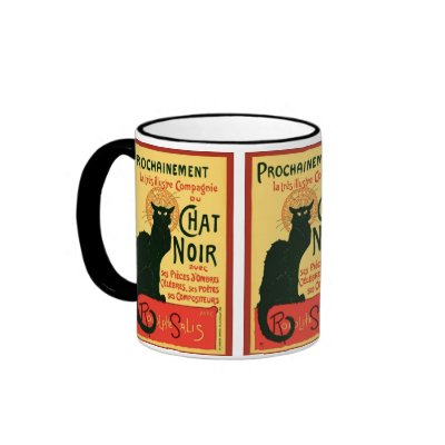Tournée du Chat Noir, Theophile Steinlen Coffee Mug