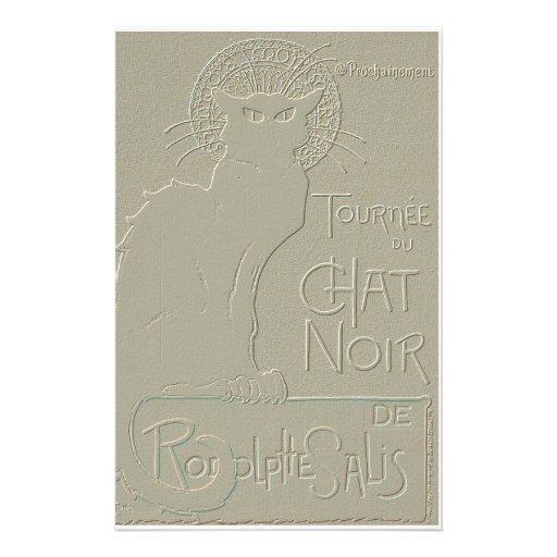 Tournée du Chat Noir, Théophile Steinlen Personalized Stationery