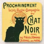 Tournée du Chat Noir, Théophile Steinlen Posavasos De Bebidas