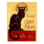 Tournée du Chat Noir, Théophile Steinlen Postal