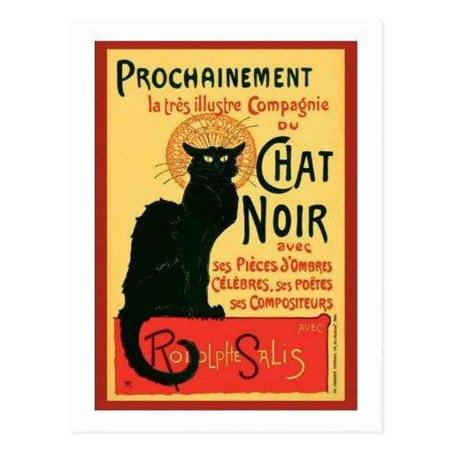 Tournée du Chat Noir, Theophile Steinlen Postal