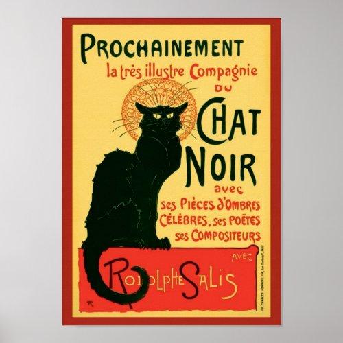 Tournée du Chat Noir, Theophile Steinlen posters