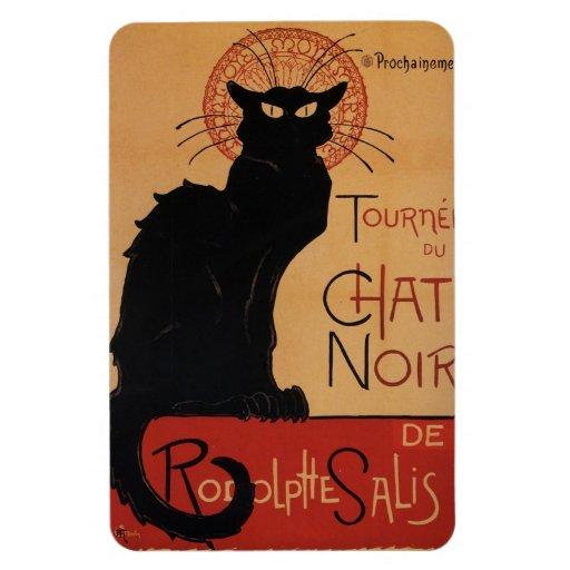 Tournée du Chat Noir, Théophile Steinlen Rectangular Magnets