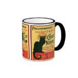 Tournée du Chat Noir, Theophile Steinlen Ringer Mug