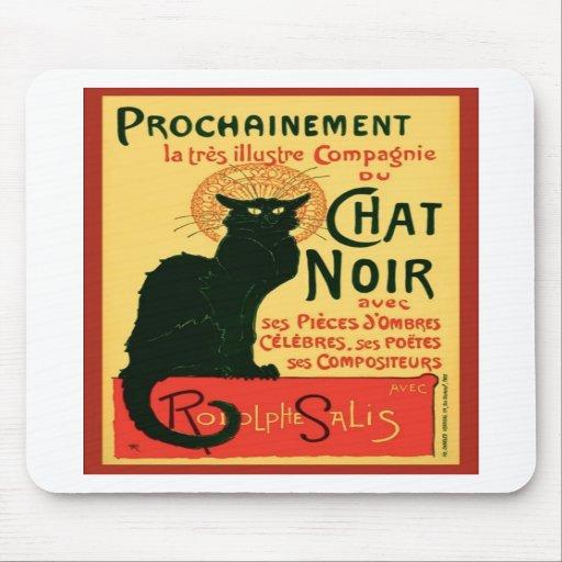 Tournée du Chat Noir, Theophile Steinlen Alfombrilla De Raton