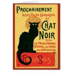 Tournée du Chat Noir, Theophile Steinlen Felicitaciones