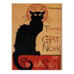 Tournée du Chat Noir, Théophile Steinlen Tarjeta Postal