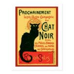 Tournée du Chat Noir, Theophile Steinlen Tarjeta Postal