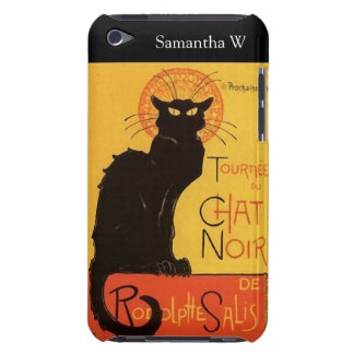 Tournée du Chat Noir, vintage del gato negro de iPod Touch Case-Mate Coberturas