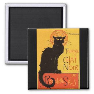 Tournée du Chat Noir, vintage del gato negro de St Imán Cuadrado
