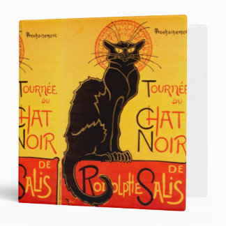 Tournée du Chat Noir - Vintage Poster 3 Ring Binder