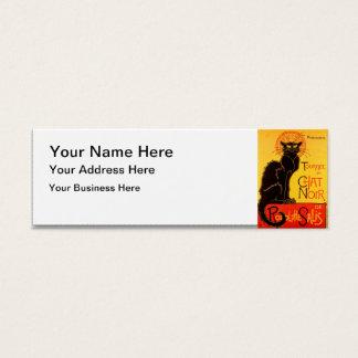 Tournée du Chat Noir - Vintage Poster Mini Business Card
