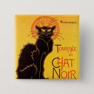 Tournée du Chat Noir - Vintage Poster Pinback Button