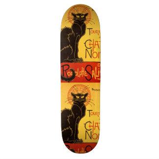 Tournée du Chat Noir - Vintage Poster Skateboard