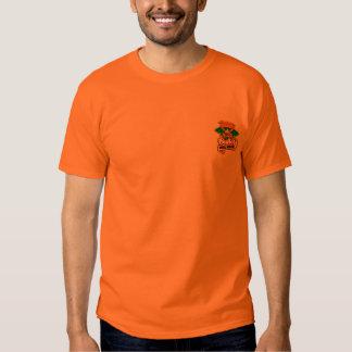 Tourney Logo Orange Cotton Tshrit Shirt