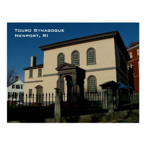 Touro Synagogue Post Card