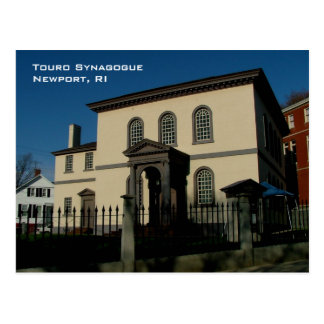 Touro Synagogue Postcard