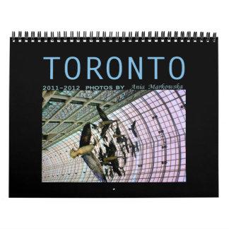 Touronto 2011-2012 calendar