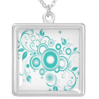 Tourquoise Abstract Necklace