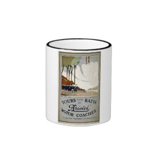 Tours from Bath by Bristol Ringer Coffee Mug